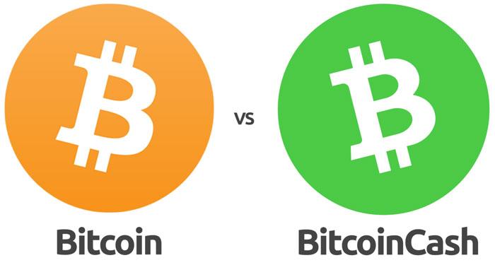 Bitcoin và Bitcoin cash